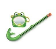 Kính bơi hình ếch và ống thở INTEX 55940