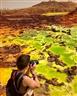 Vùng đất kỳ lạ có địa hình như bề mặt sao Hỏa